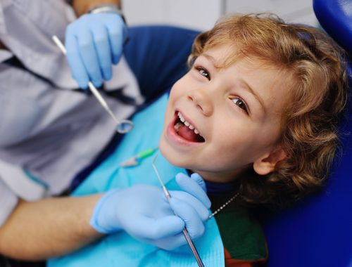 Bambini dal dentista